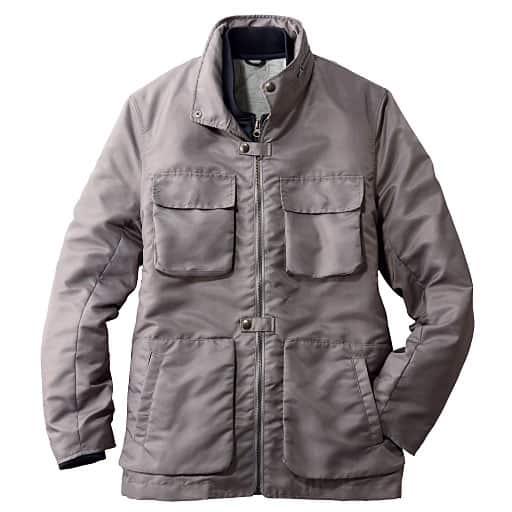 【メンズ】 軽量中綿ライナー付きジャケット(エアコンダウン) – セシール