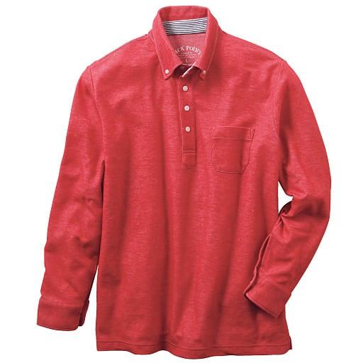【SALE】 【メンズ】 吸汗・速乾ボタンダウンポロシャツ(長袖) – セシール
