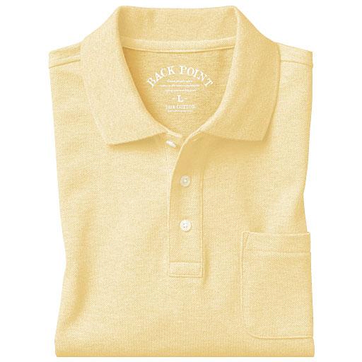 【SALE】 【メンズ】 綿100%ポロシャツ(半袖)