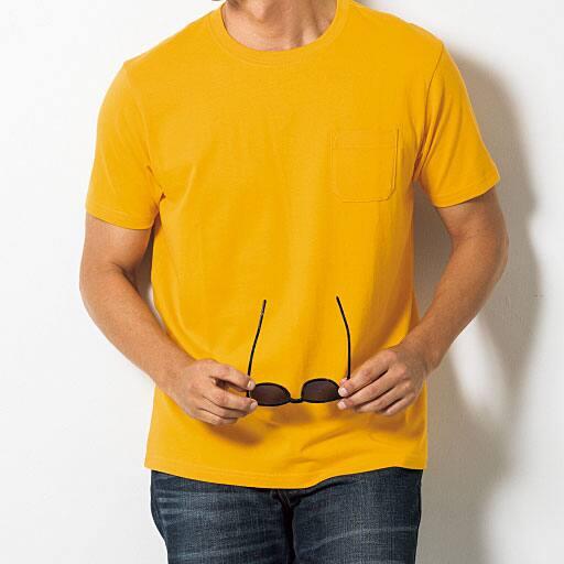 50%OFF【メンズ】 綿100%クルーネックTシャツ(半袖)(S-7L)