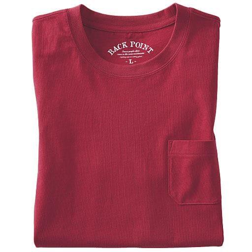 30%OFF【メンズ】 綿100%クルーネックTシャツ(長袖)(S-7L) - セシール