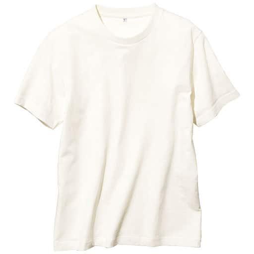 35%OFF【メンズ】 オーガニックコットン100%Tシャツ(半袖) 糸の製法にまでこだわった一枚。