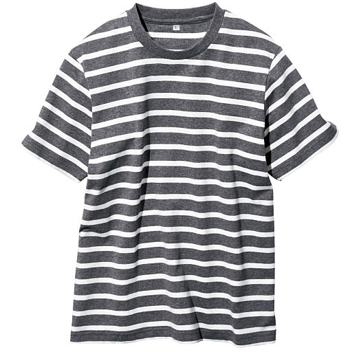 【メンズ】 オーガニックコットン100%Tシャツ(半袖) 糸の製法にまでこだわった一枚。