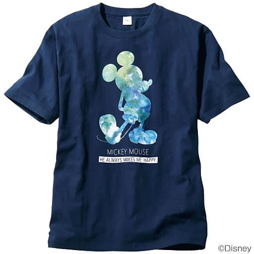 【レディース】 綿100%プリントTシャツ((C)Disney)の通販