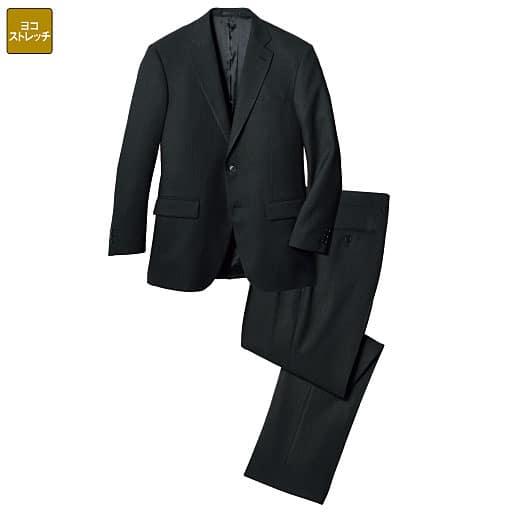 【メンズ】 横ストレッチアジャスター付きスーツ - セシール