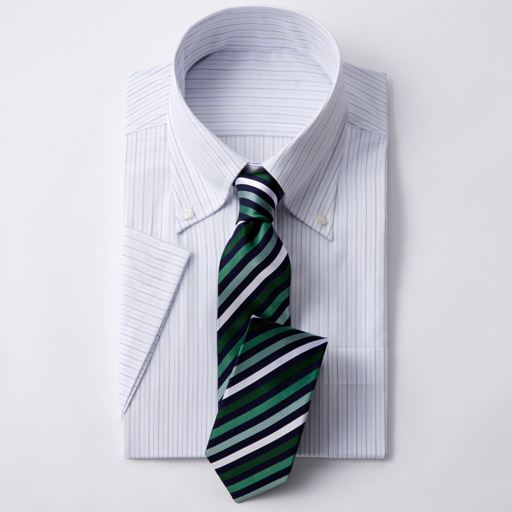 【SALE】 【メンズ】 半袖先染めイージーアイロンYシャツ - セシール