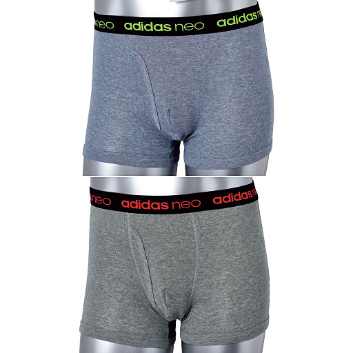 【メンズ】 adidas® neoボクサー2枚組 – セシール