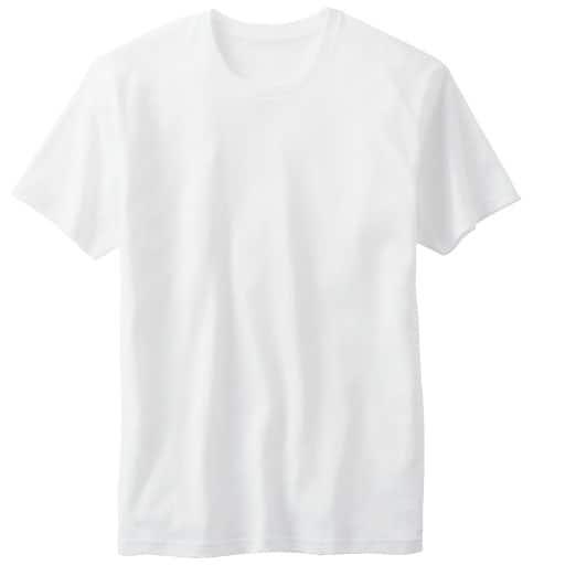 <セシール> 50%OFF【メンズ】 クルーネックTシャツ <サイズ>LL、S、L、5L <カラー>ホワイト
