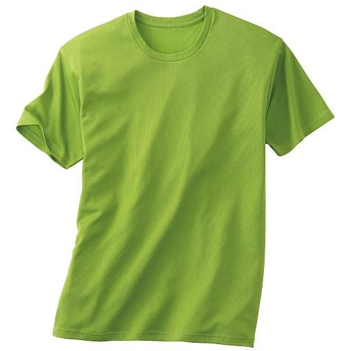 <セシール> 50%OFF【メンズ】 クルーネックTシャツ <サイズ>M、S <カラー>グリーン