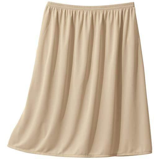 【レディース】 スカートに合わせて丈が選べる人気のペチコート(吸汗・速乾・静電気防止)(選べる4丈)