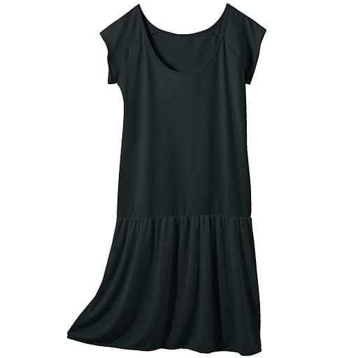 【レディース】 切り替えスリップ(脇汗カバーのフレンチ袖) – セシール