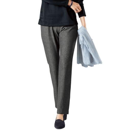 【レディース】 日本製 アウトラストパンツ(美脚パンツ・選べる2レングス) – セシール