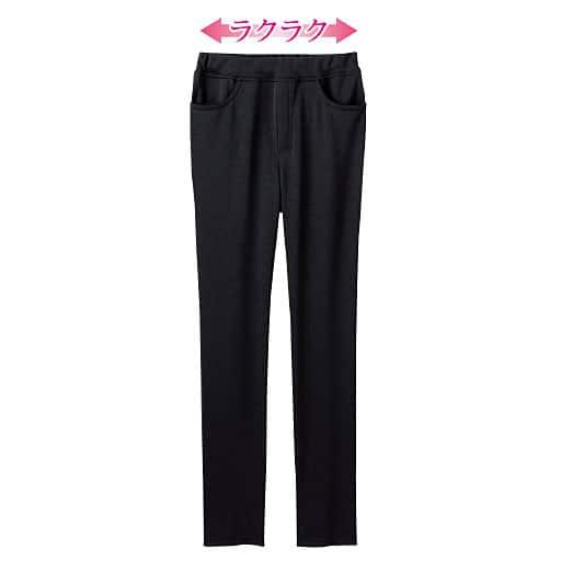 【レディース】 日本製 はっ水加工 ストレートパンツ(美脚パンツ・選べる2レングス)の通販