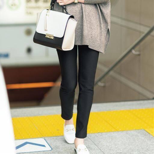 【SALE】 【レディース】 ハイパーストレッチスキニーパンツ(UVカット・接触冷感・美脚パンツ・選べる3レングス)の通販