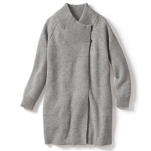 【SALE】 【レディース大きいサイズ】 ポンチョ風ニットジャケットの通販