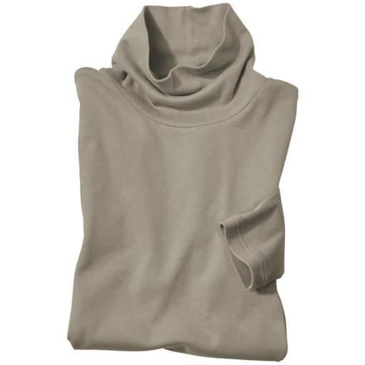 【レディース】 UVカットルーズネックTシャツ(S-5L・綿100%)