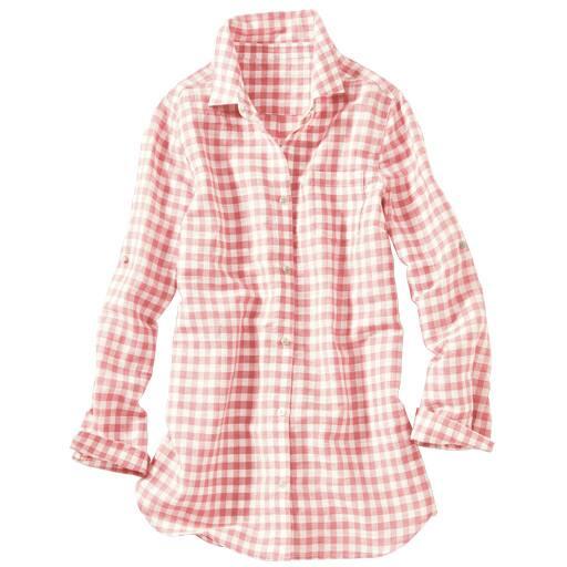 【SALE】 【レディース】 フレンチリネンレギュラーシャツの通販