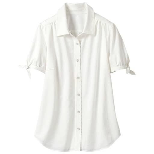 【レディース大きいサイズ】 カットソーシャツ(半袖)