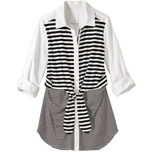 【SALE】 【レディース】 フロントリボンシャツの通販