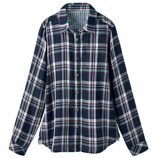 【SALE】 【レディース】 ダブルガーゼシャツの通販