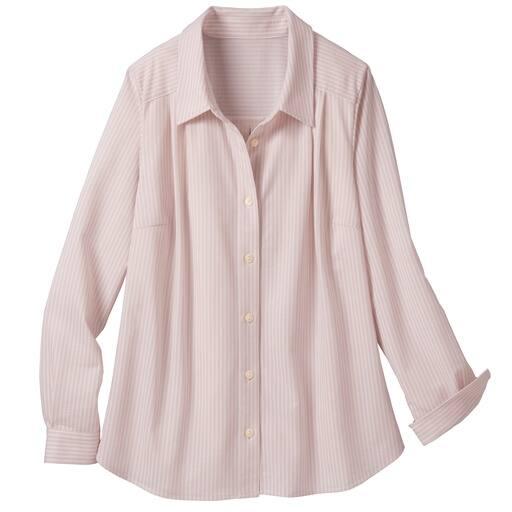 【レディース大きいサイズ】 カットソーシャツ(長袖)の通販