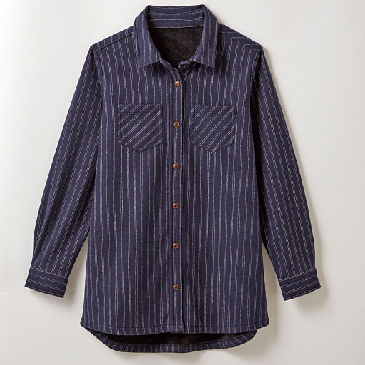 【SALE】 【レディース】 裏ベロアレギュラーカラーシャツの通販