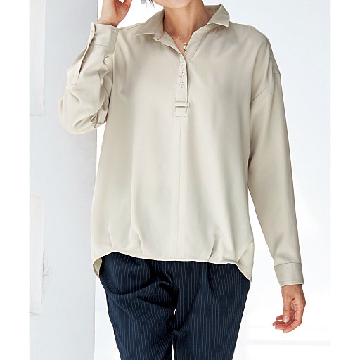 【SALE】 【レディース】 スキッパーシャツの通販