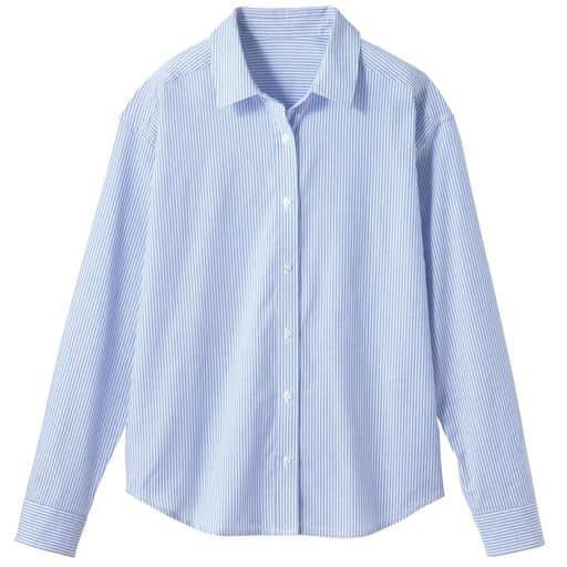 【レディース】 UVカット レギュラーシャツ(綿100%)の通販