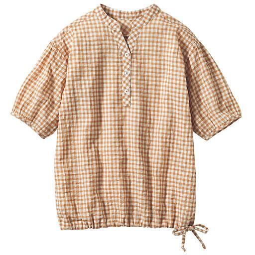 40%OFF【レディース大きいサイズ】 プルオーバーシャツ