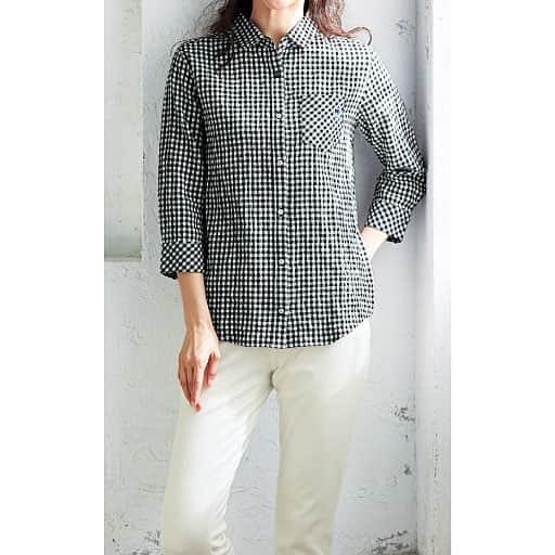 【SALE】 【レディース】 7分袖レギュラーシャツ(USPP)の通販