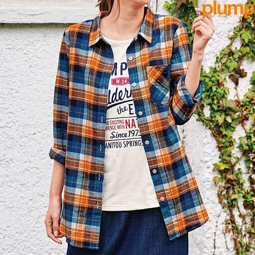 【SALE】 【レディース大きいサイズ】 レギュラーシャツの通販