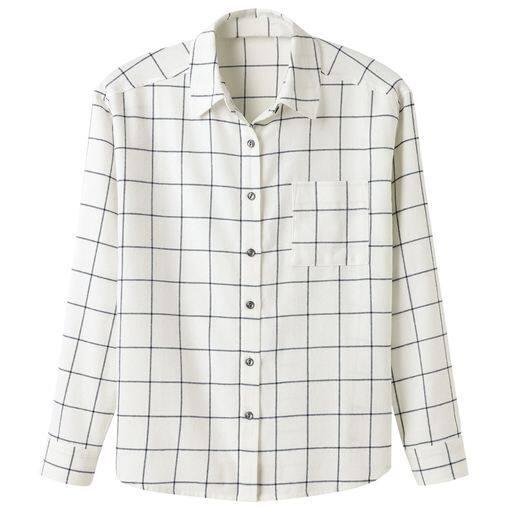 【レディース】 レギュラーシャツ(綿100%)の通販