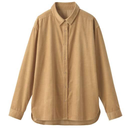 【SALE】 【レディース】 綿100%コーデュロイシャツの通販