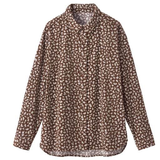 【SALE】 【レディース】 綿100%コーデュロイシャツ