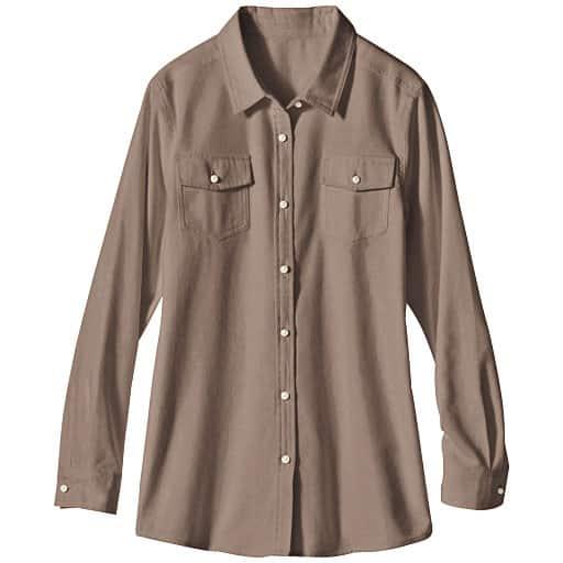 【SALE】 【レディース】 レギュラーシャツ(綿100%)の通販