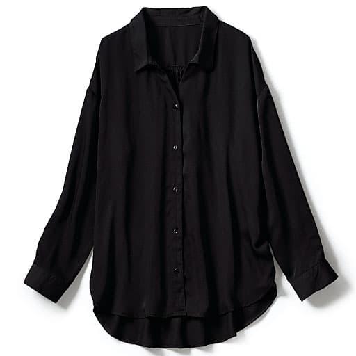 【SALE】 【レディース大きいサイズ】 抜け衿シャツの通販