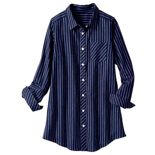【SALE】 【レディース大きいサイズ】 チュニックシャツの通販