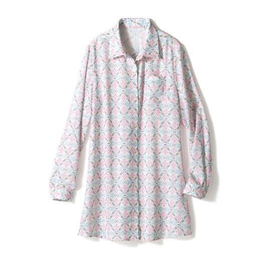 【レディース】 ロングシャツ