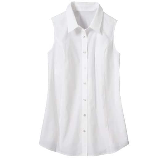 【レディース大きいサイズ】 ノースリーブシャツ – セシール