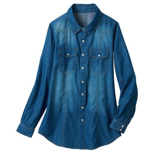 【レディース大きいサイズ】 ベーシックシャツ(綿100%) – セシール