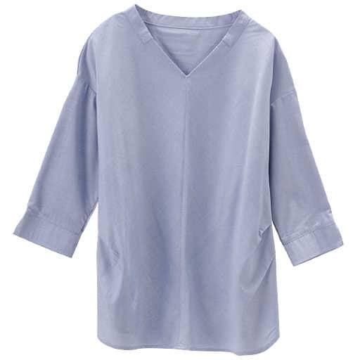 【レディース】 スマートドライゆったりプルオーバー(7分袖)(吸汗速乾・接触冷感・UVカット・抗菌防臭・形態安定)の通販