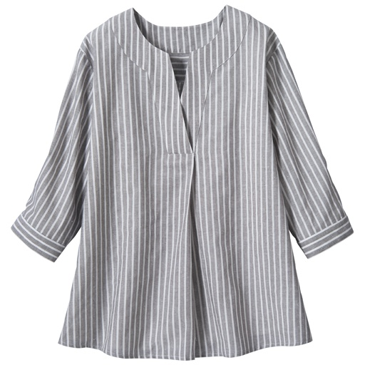 【レディース大きいサイズ】 プルオーバーシャツの通販