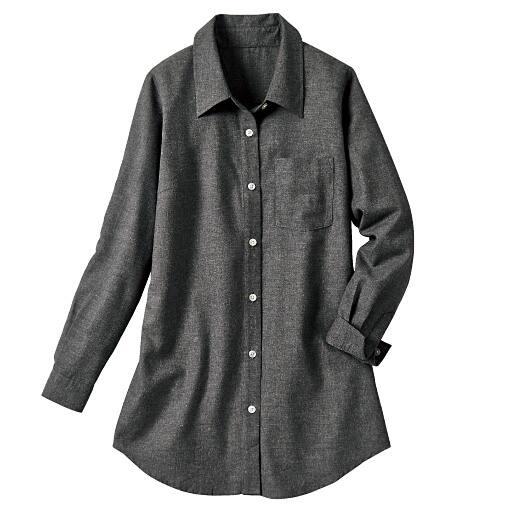 【レディース大きいサイズ】 レギュラーカラーシャツ