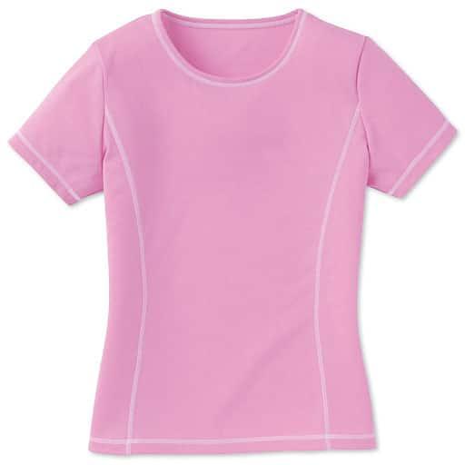 【SALE】 【レディース】 汗じみ防止Tシャツ(半袖)の通販