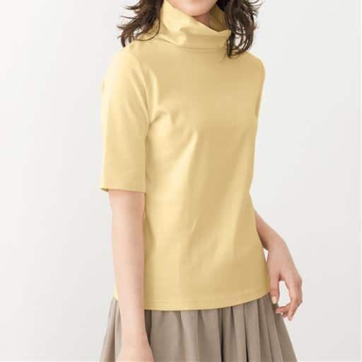 【レディース】 UVカットルーズネックTシャツ(五分袖)の通販