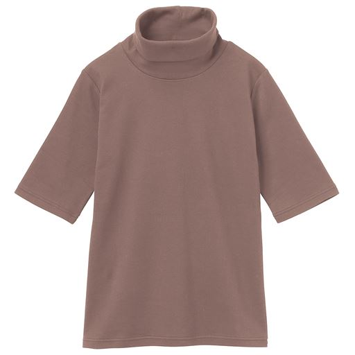 【SALE】 【レディース】 UVカットルーズネックTシャツ(五分袖)の通販
