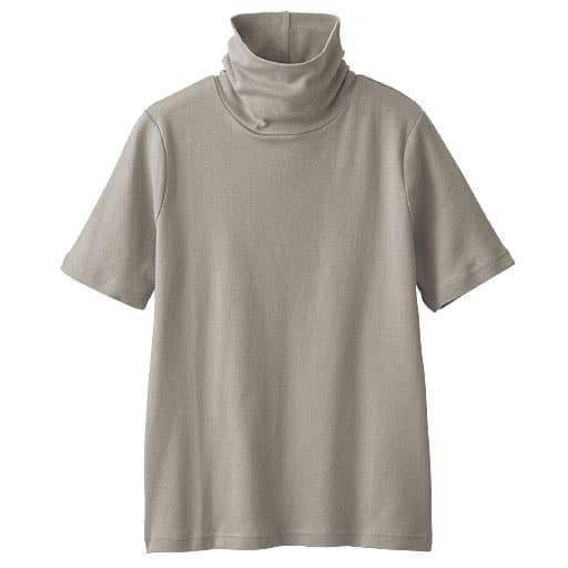 【レディース】 UVカットルーズネックTシャツ(半袖)の通販