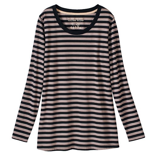 【レディース大きいサイズ】 クルーネックTシャツの通販