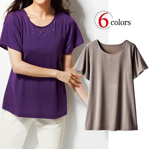 【SALE】 【レディース】 ラインストーンTシャツの通販