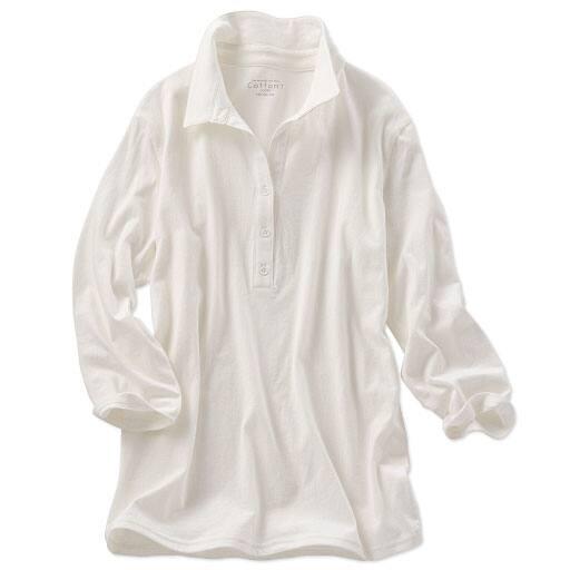 【SALE】 【レディース】 衿付きTシャツ(7分袖)の通販